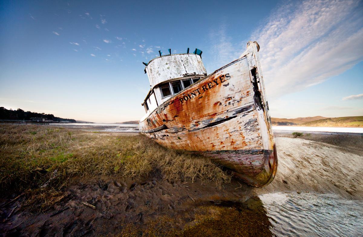 Pt. Reyes shipwreck California photo