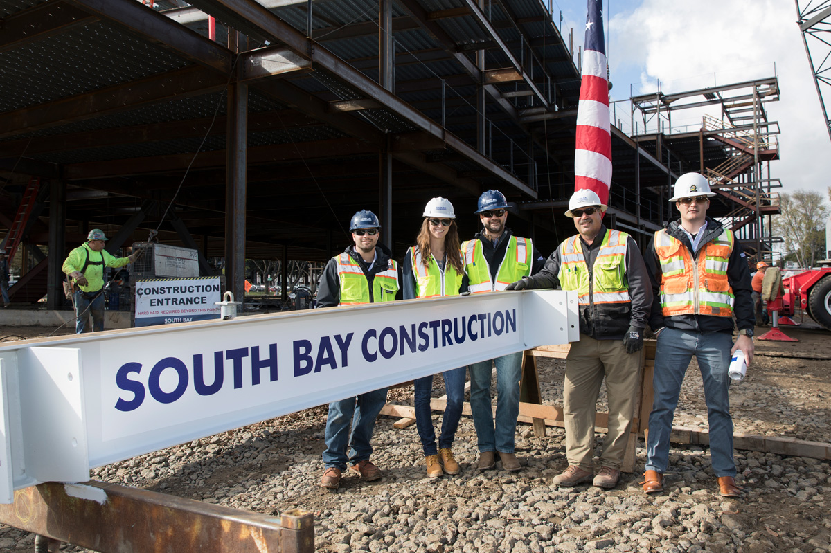 South Bay Construction Team, Sunnyvale, California. Photo by Chris Constantine
