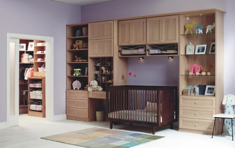 Baby bedroom photography custom closets built-ins