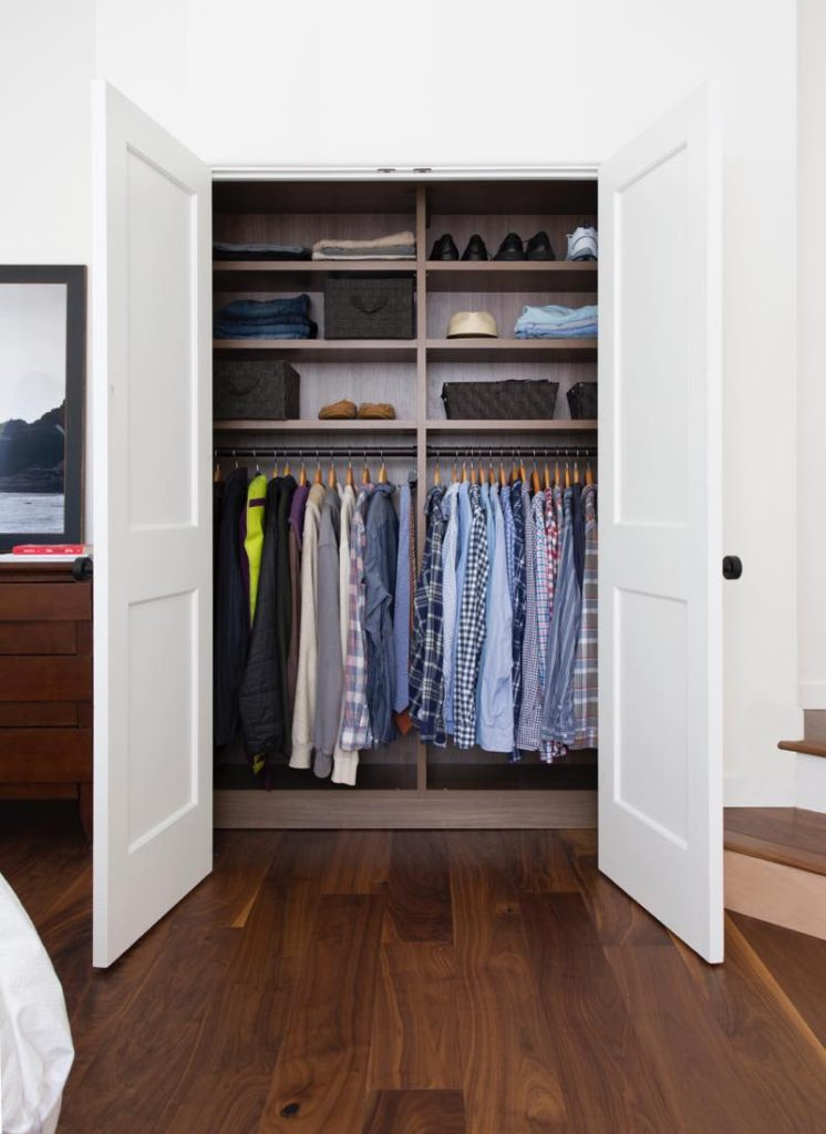 Erica Coffman Blogger bedroom closet photos picture