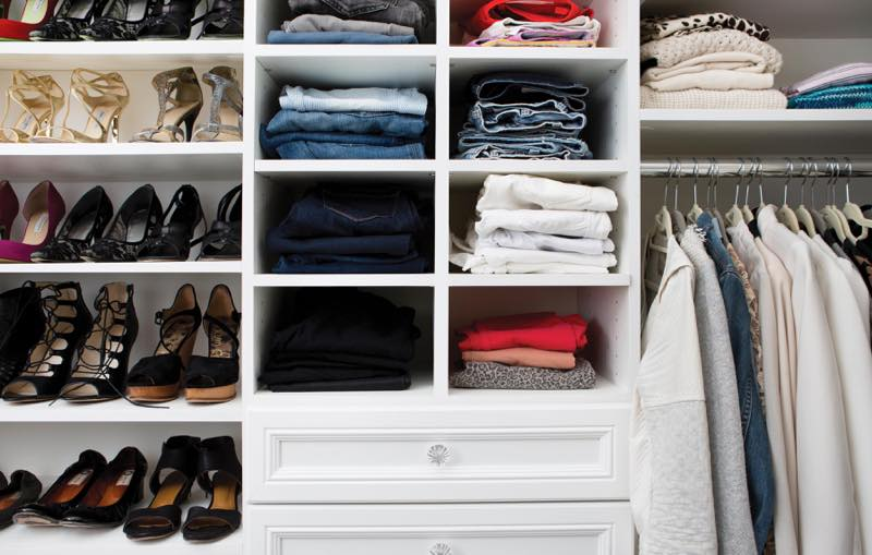 Custom closet furniture design white hawkins photo picture by Chris Constantine photographer