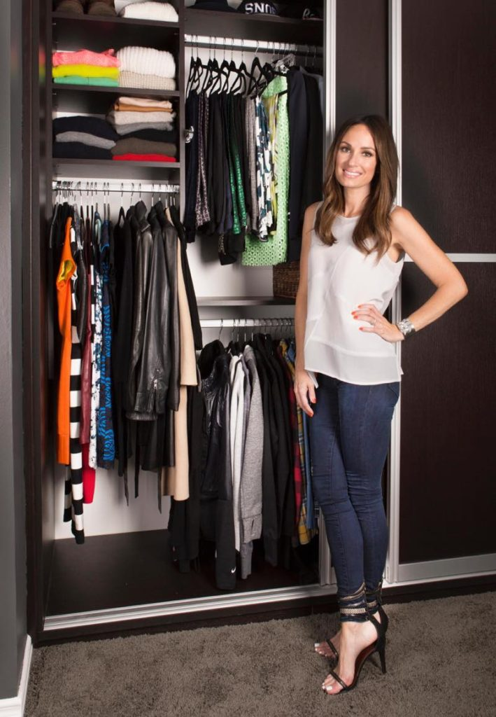 Celebrity Catt Sadler custom bedroom closet photography by Chris Constantine Photography